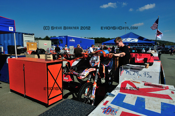 Germany ISDE 2012 Pre-impound