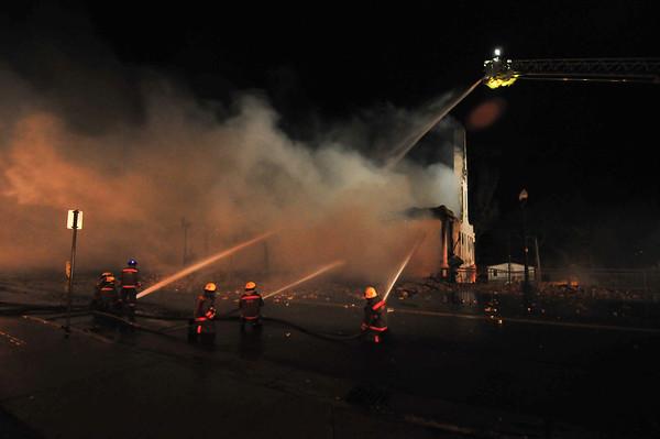 Ortonville Hotel Fire